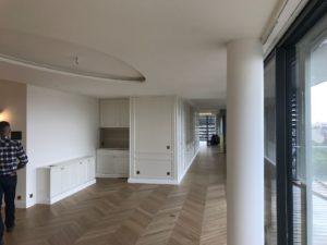 Peinture et décoration d'un appartement à Rennes