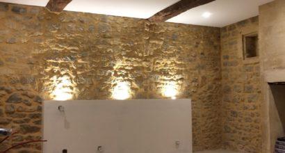 Pose de plafond tendu à Saint-Malo